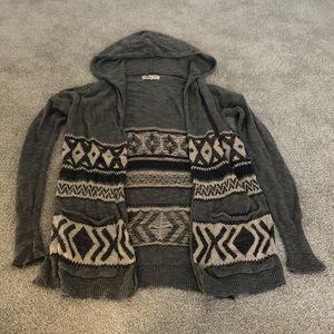 Xs/s hollister thin knit cardigan
